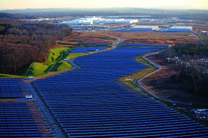 Volkswagen inaugurates solar park in the USA